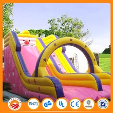 Durable material PVC cheap inflatable water slides for sale