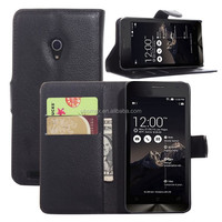 Flip PU Stand Leather Wallet case cover for ASUS Zenfone 4 A450CG case