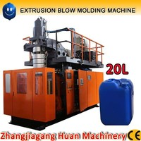 10 liter / 20 liter plastic bottle extrusion blow molding machine with accumulator head