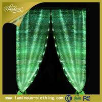 latest light led luminous type of hotel office window curtain designs