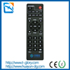 Dongguan dvb universal remote control for tv/stb ir remote controller with ISO ROHS