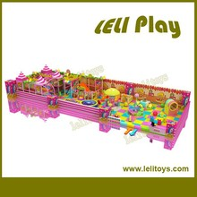 LL-I68 2015 Newly Children Plastic Commercial Indoor Playground