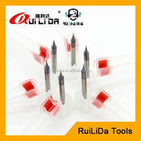 0.5mm micro solid carbide end mill cutter
