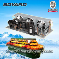 boyard refrigerator freezing condensing unit for Low Temperature Solid Lid Chest Freezer