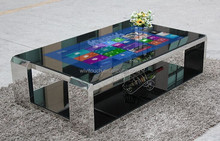 """42"""" Interactive Waterproof Tea / Game / Bar / Coffee Touch Foil Table, Pure Flat Capacitive Touch Screen Table"""