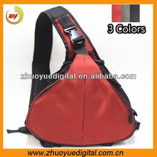 Fashion shoulder camera bag dslr travel digital video camcorder bag/case Travel Triangle digital camera bag