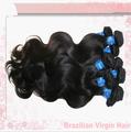 Precio razonable indio virginal del pelo negro asiático cabello humano