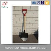 D shape handle Carbon Steel Material S527 Snow spade and planting shovel