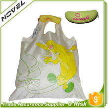 Promotional Teenage Folding Fruit Shape Shopping Bags