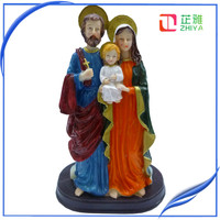 Resin Saint Family Statue Figure For Decoration