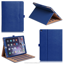 Guangzhou Wholesale PU leather Tablet Case For IPad Pro 12.9 inch With A Pocket For File