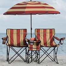 beach chair two persons folding chair wholesale camping chair with umbrella