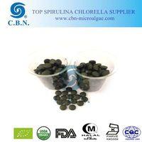 Women bodybuilding food supplements spirulina tablet