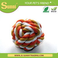 Rope dog toy hand puppet for dog training