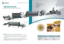 Full Automatic Corn Flakes production line, breakfast grain processing machine Manufacture Plants