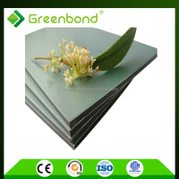 Greenbond high quality 1500mm width aluminium composite panel of protective film