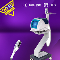 KES High Intensity Focused Ultrasound Tighten skin tissues on the forehead beauty machine