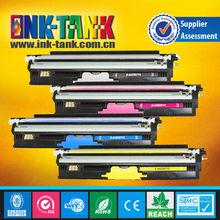 Para oki cartuchos de tóner, compatible oki c110/c130/c160 color cartuchos de tóner