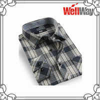 2015 wholesale apparel manufacturers china french cuff cheap flannel shirts