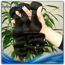 Wholesale Price Tangle Free Unprocessed Loose Wave Hair Weaves