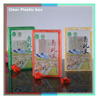 Custom Clear Food Packaging Box with Different Design