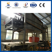 Placer Sediment Gold Refining Machine with Gravity Separation Selecting