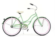 26inch new beach cruiser bike for women