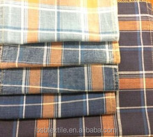 PRICE REASONABLE 100%COTTON INDIGO YARN DYED COTTON FABRIC TWILL/PLAIN FOR CLOTHES