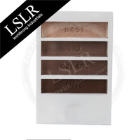 Wholesale Blister Packing 4 Shades Eyeshadow Makeup Palette
