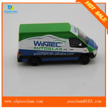 Hot sale mini van scale model 1 87
