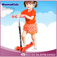 2015 best selling fashiin kids scooters with 3 wheels