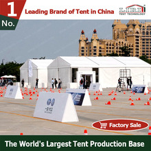 2015 Hot Sale Cetificited Aluminum Alloy Frame and PVC Fabric Waterproof Fireproof Commercial Tent