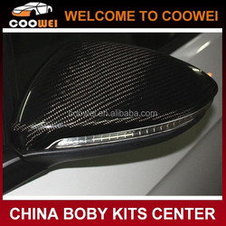 2014 New Arrival Facelift Full replacement Golf VII Carbon Fiber Car Mirror cover for Volkswagen Golf 7 MK7