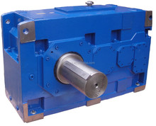 H helical gear parallel shaft high power industry gearboxes