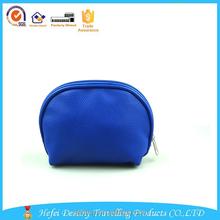 cheap clutch royal blue pu waterproof cosmetic bag