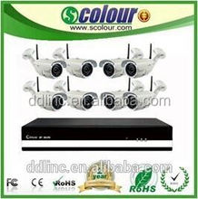 Hot sell 2015 8 channel wifi ip camera kit with wireless night vision ip camera NVR KIT ,real time surveillance camera ce rohs