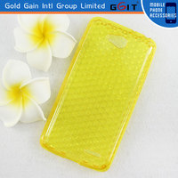 Elegant Diamond Type Soft TPU Case For LG L70 D320N Protector Case With Multicolors