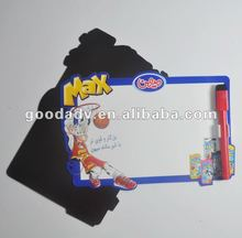 2012 hot sale erasable writing board with pens