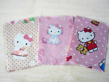 Hello Kitty Rectangular Cotton Lace Cleaning Cloth