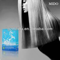 1000ml*3 blue box water essence wholesale hair product magic straight perm