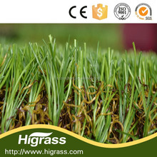 Garden decoration with ornamental artificial grass for landscaping