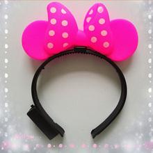 30pcs/lot mixed LED horn headband and LED headband for festival as party supplier