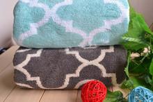 AZO free home hotel fashion jacquard woven bath beach towel
