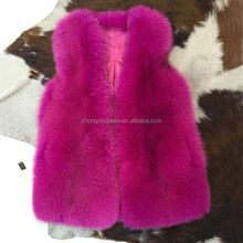 Luxury Women Winter Clothes Online Shopping/ Real Fox Fur Vests For Sale