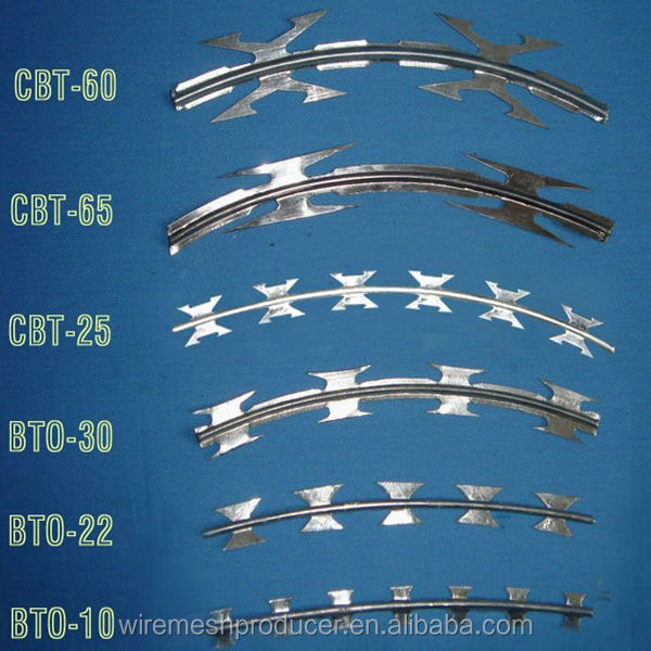 Securyty Barbed Razor Wire/military Concertina Wire /army Security ...