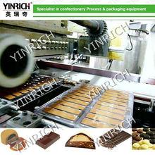 QJ175 Automatic double shots Chocolate Moulding Line
