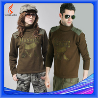 Wool Army Military Combat Police Sweater Pullover
