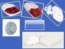 New hot sell product,amazing home security alarm!Sound alarm for door/window sensor,gas/smoke/fire/PIR/motion detector,siren