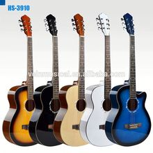 """Venta al por mayor y OEM 39 """" 40 """" 41 """" principiante guitarra acústica guitarra música eléctrica"""