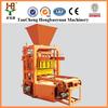 Light Weight QTJ4-30B Electric Small Mobile Block Machine,Manual Concrete Hollow Block Machine